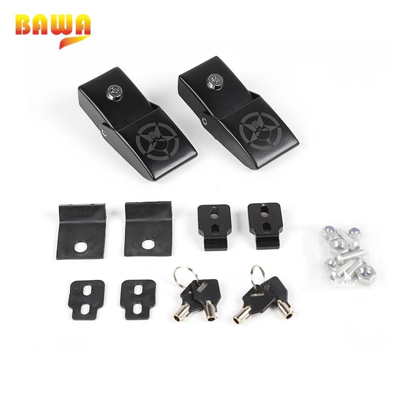 Replacement For Jeep Wrangler Jk 2007 2015 Engine Hood Lock Latch Buckle Set 1 Pair Bonnet Latch Car Accessories Car Pads Mats