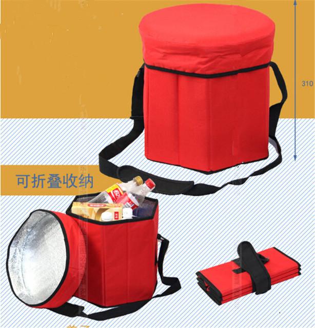Caixa de carro Multifuncional Carro Dobrável Saco De Armazenamento Saco Sacos De Armazenamento Box Thermo Incubadora Refrigerador de Comida E Bebida 1 Pc Por conjunto