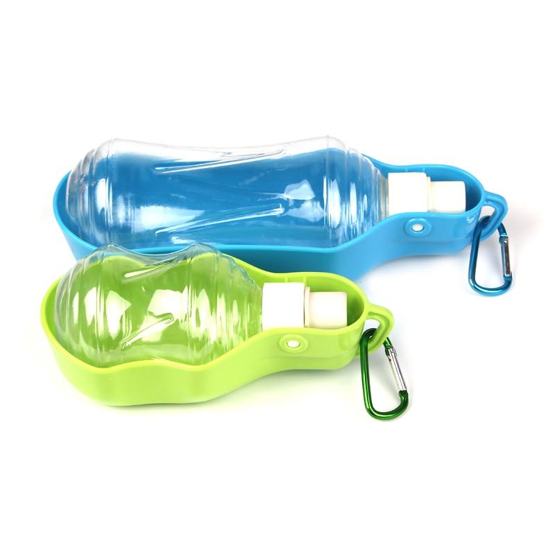 Plastic Pet Travel Water Drinking Bottle Portable Pet Dog: 500ml 250ml Sport Pet Dog Water Bottle For Kitten Cat