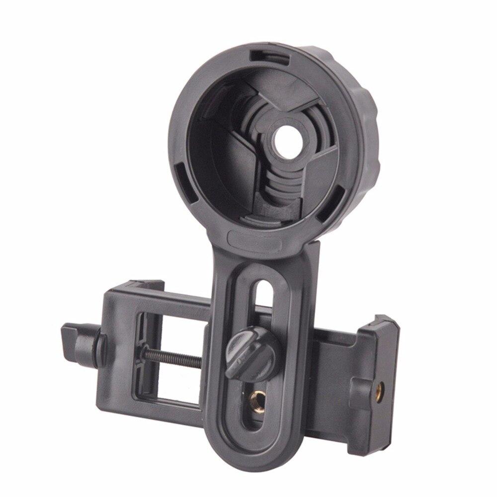 Neue Teleskop Halter Telefon objektiv Schnell Fotografie Adapter Halterung stehen für Fernglas Monokulare Spektiv Mikroskop unterstützung