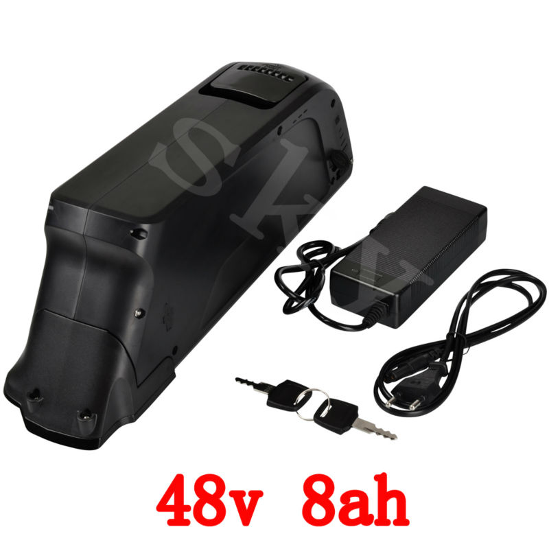 New water bottle battery 500W Electric Bike lithium ion battery 48V 8AH Ebike Battery with USB Port 15A BMS 54.6V 2A charger 30a 3s polymer lithium battery cell charger protection board pcb 18650 li ion lithium battery charging module 12 8 16v