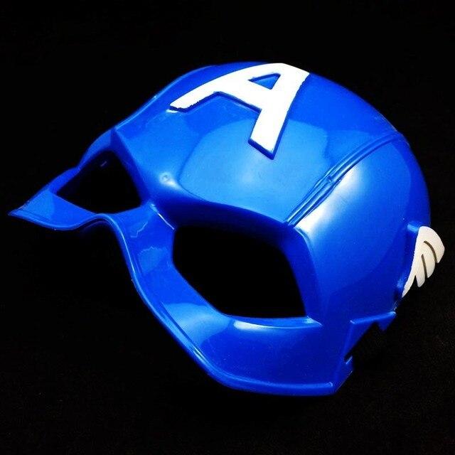 Full Head Mask Super Hero Hulk/American Captain/Iron Man/Spiderman/Batman Crazy Halloween Costume Masks Children Gifts 2
