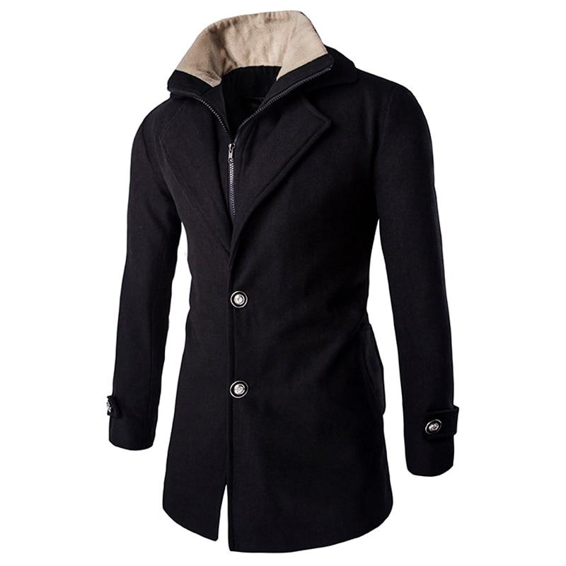 Popular Mens Wool Winter Coats Sale-Buy Cheap Mens Wool Winter