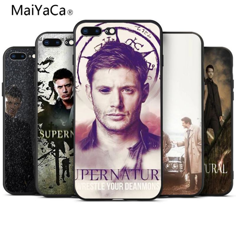 MaiYaCa supernatural Diy Luxury High-end Protector phone Case For Apple iphone 7 7plus X XS XR XSMax 8 8plus 6s 6 plus 5 5s SE