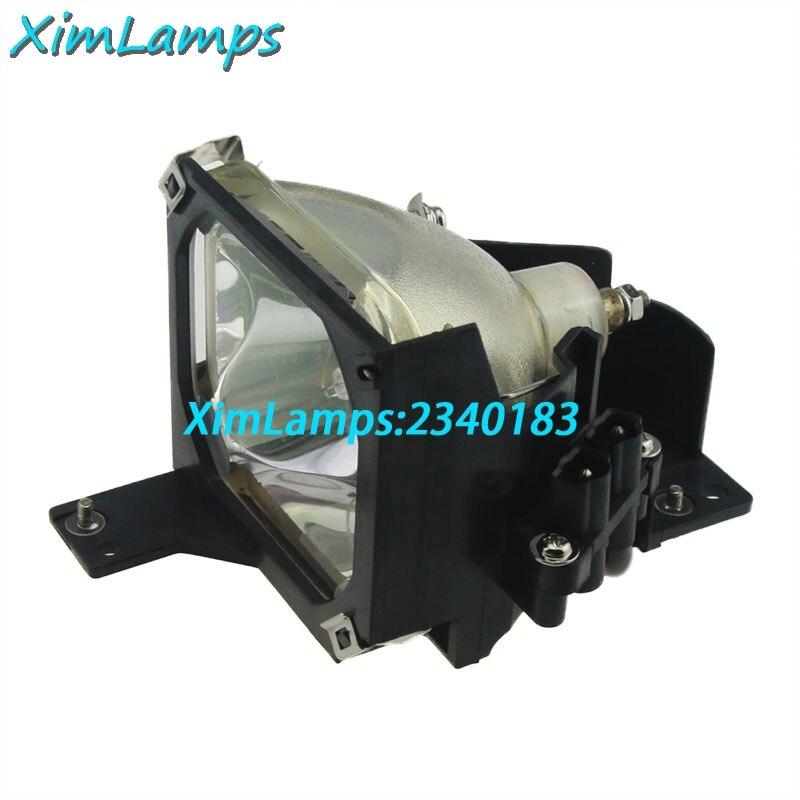 Elplp16 Высокое качество Совместимость лампы внутри Замена лампы с Корпус для Epson PowerLite 51c 71c; emp-51 emp-51l emp-71.emp