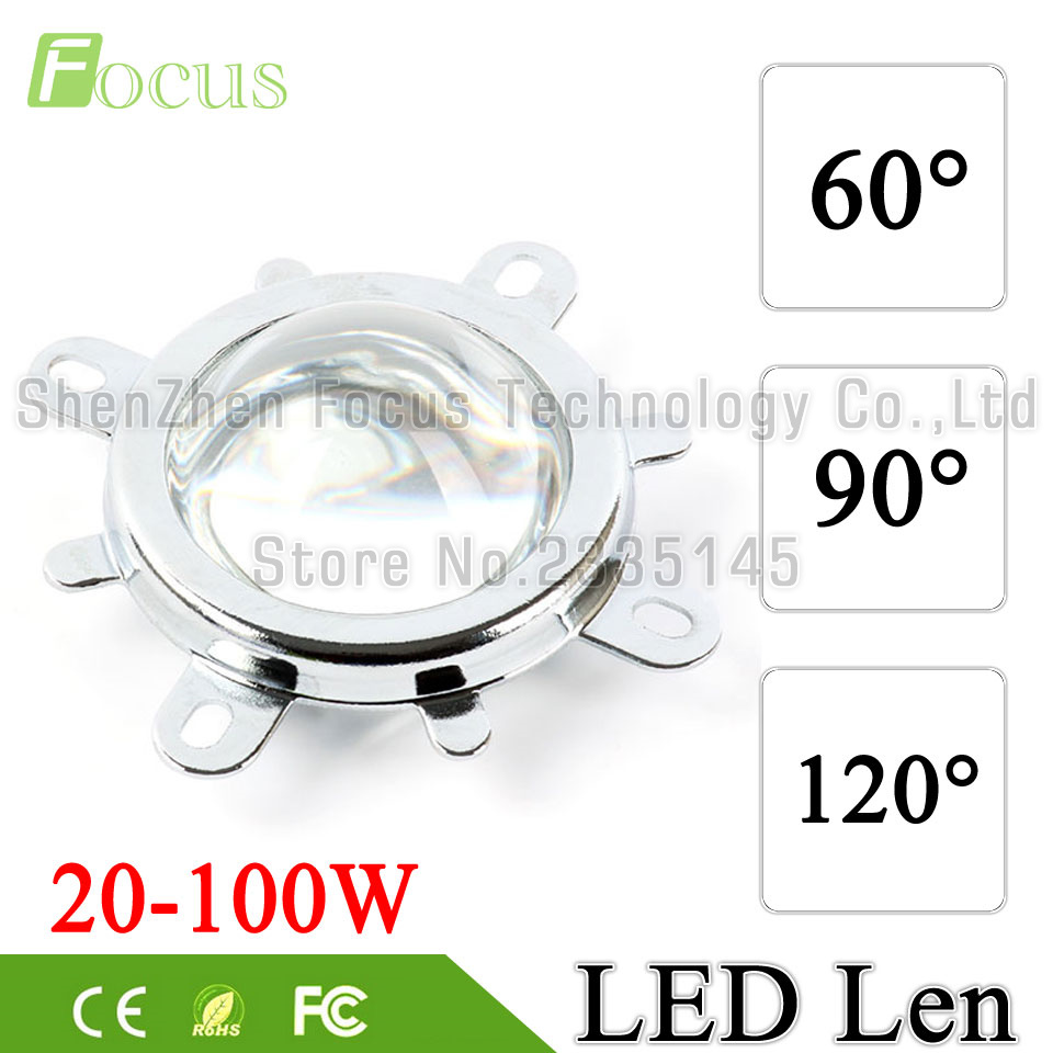 60 90 120 degree LED Lens Optical Glass 44mm Reflector Collimator Fixed Bracket For 20W 30W 50W 100W COB High Power COB Chip toddler girls dresses children clothing 2017 brand princess dress for girls clothes fish print kids beading dress 1 13