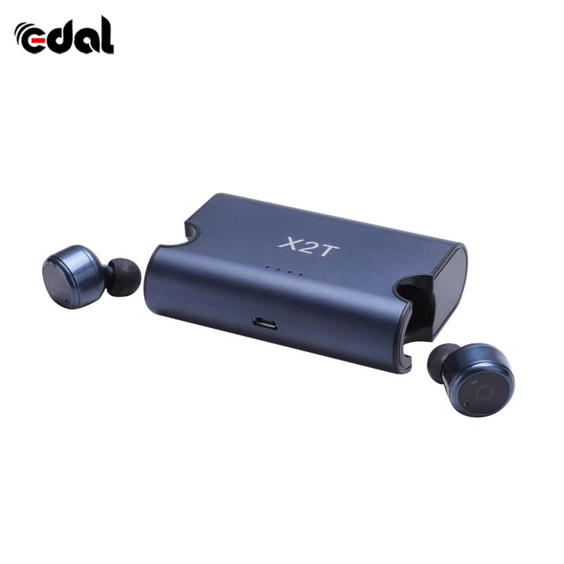 X2T mini wireless earphone noise canceling headphone bluetooth headset with 1500mAh power bank box for iphone /android dbigness sport running bluetooth earhook headphone mini wireless earphone stereo noise canceling auricular for xiaomi iphone