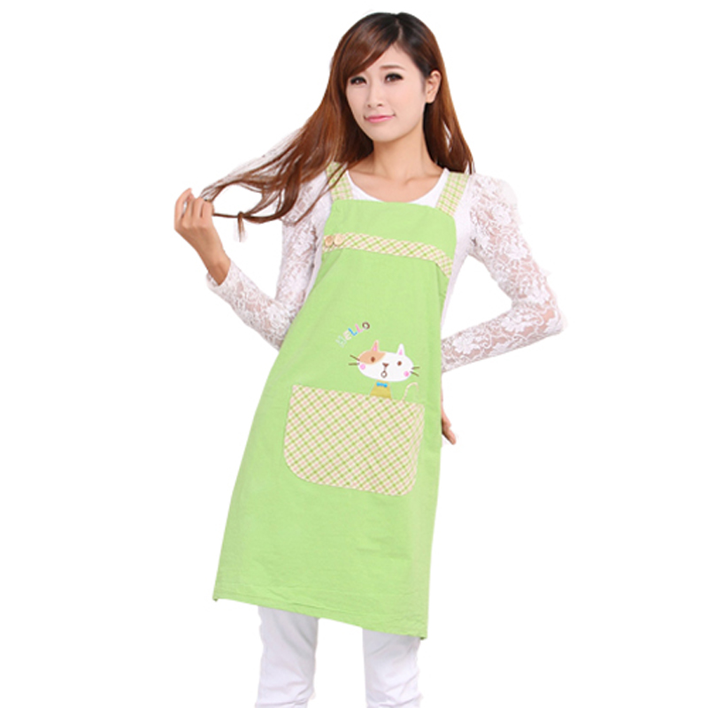 Hot Sale Cute Cat fashion princess tea shop kindergarten apron woman - Household Merchandises - Photo 3