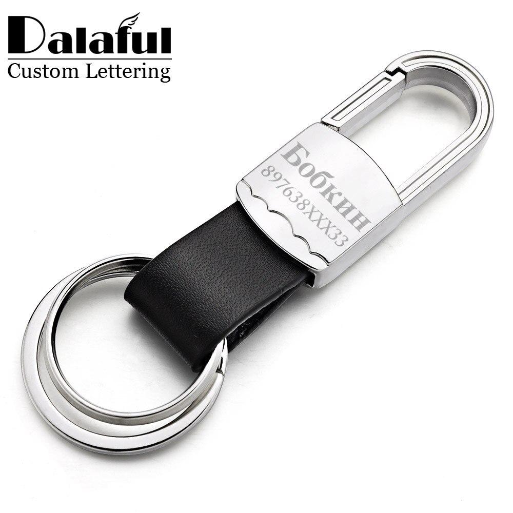 Lettering personalizado Chaveiro Chaveiro Titular Chaveiro Para Gravar o  Nome Do Carro Dos Homens de Couro f69be27cf9