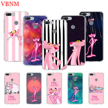 Pink Panther Art Printing Protect Phone Case For Huawei Honor 8X 20 9 10 lite 8A Pro 10i 20i 8S V20 Y5 Y6 Y7 Y9 2019 Prime Cover