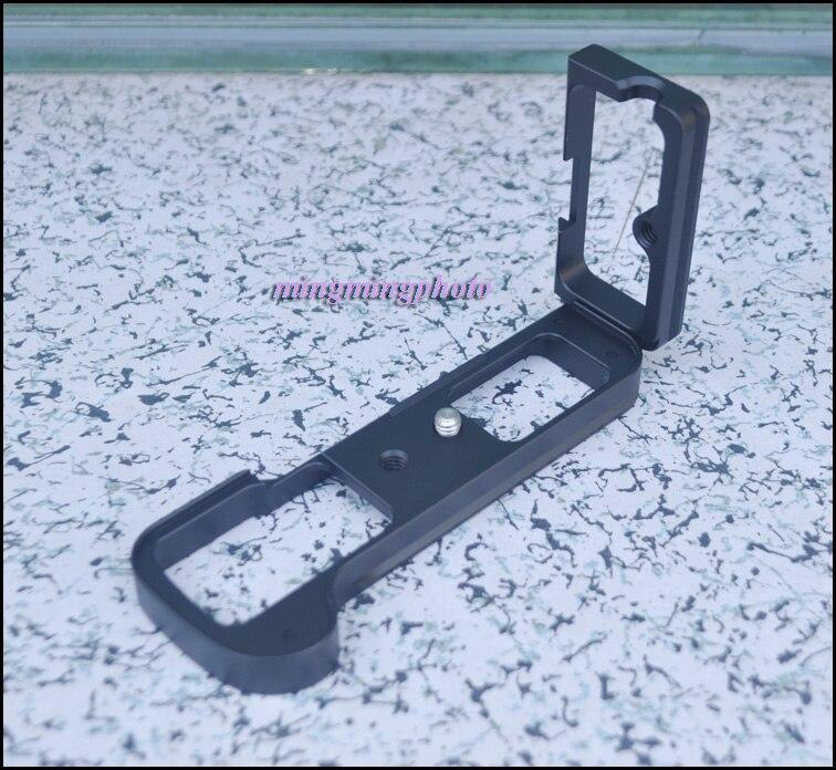 L-shaped Vertical Shoot Quick Release Plate Bracket Hand Grip Holder for Fuji Fujifilm X-T2 XT2 Camera Arca Swiss Tripod