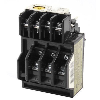TR-5-1N/3 Ith 3A Uimp 6KV Ui 690V 3 Pole Thermal Overload Relay 1NO 1NC 2 pin thermal overload protection