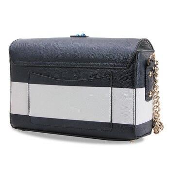 Göttin! Luxus Marke Blau Und Weiß Farbe Navy Stil Frauen Tote Schulter Taschen Weibliche Handtasche Edelstein Diamant Original Designer