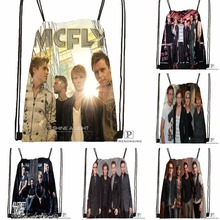 Custom McFly Love Is Easy Drawstring Backpack Bag Cute Daypack Kids Satchel (Black Back) 31x40cm#180531-03-69