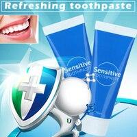 Чувствительная мята свежее дыхание уход за полостью рта паста Чистка зубов гингива зубная паста отбеливание зубов YF2018