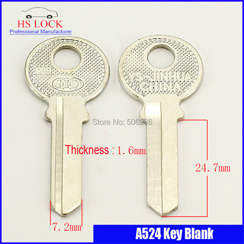 iron 1.5 right bath door Key blank Locksmith Supplies Blank Keys cilvil Horizontal key machine A524 iron blade cutter