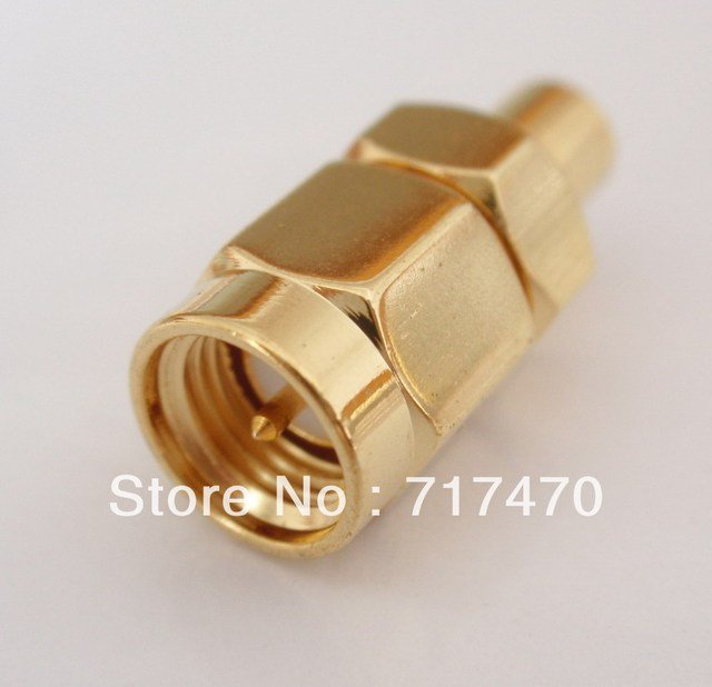 SMA male to MCX female adapter RF connector