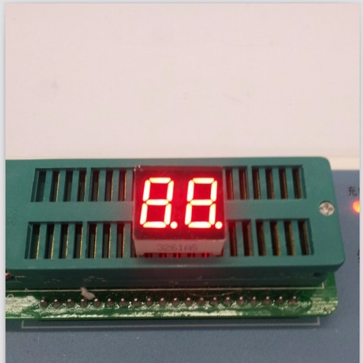 100pc Common Cathode/Common Anode 0.36inch Digital Tube 2 Bit Digital Tube Display Red Digital Led Tube Factory Direct