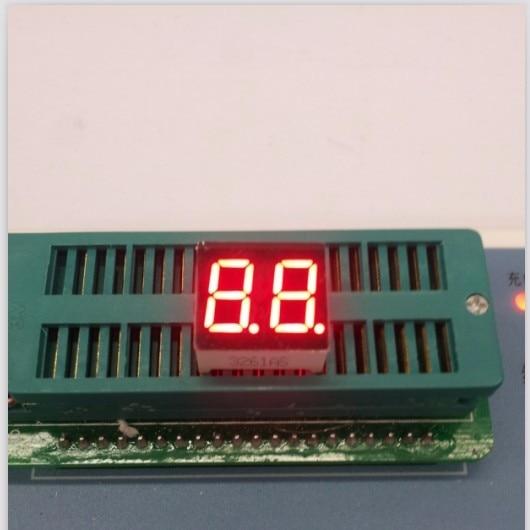 100pc Common Cathode/Common Anode 0.36inch Digital Tube 2 Bit Digital Tube Display Red Digital Led Tube Factory Direct