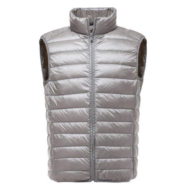 Ultralight White Duck Down Vest