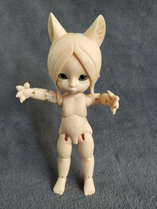 Image 5 - Anime bjd doll animal toy   bite cat high quality sale free shipping