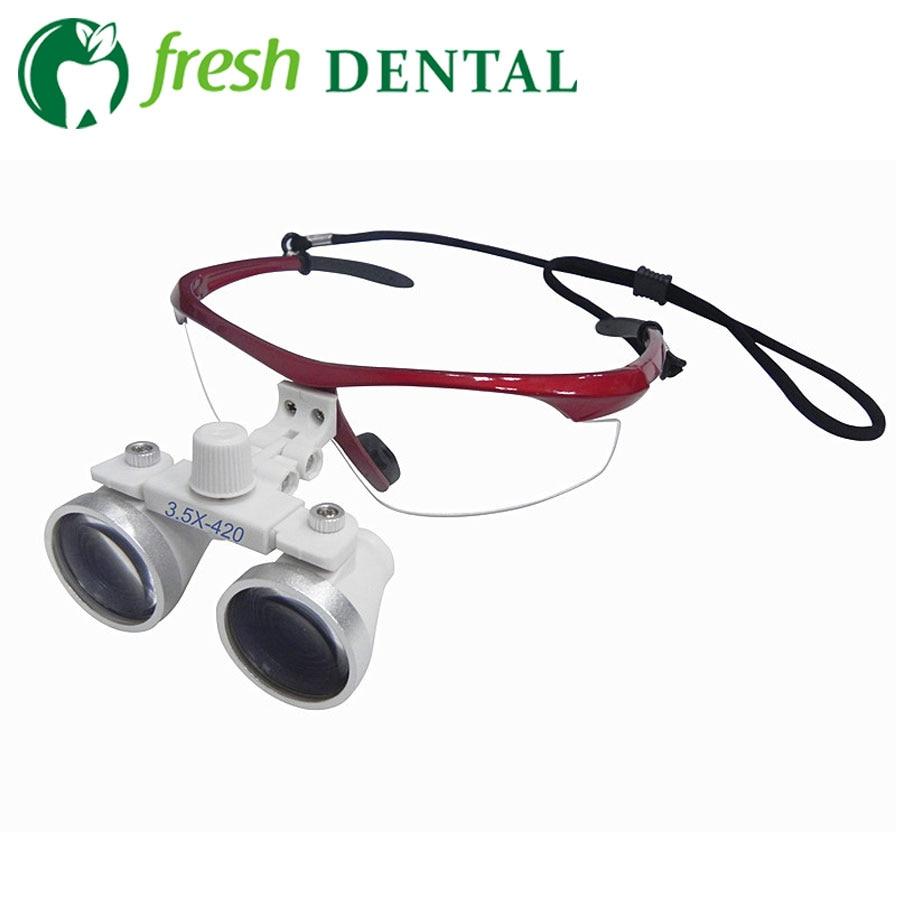 Dental Lupas 2.5X 3.5X Dental Cirurgia Ramo de ampliação lupa lupa lupa  binocular Dental Médica ENT SL706 93e7f3a8c9