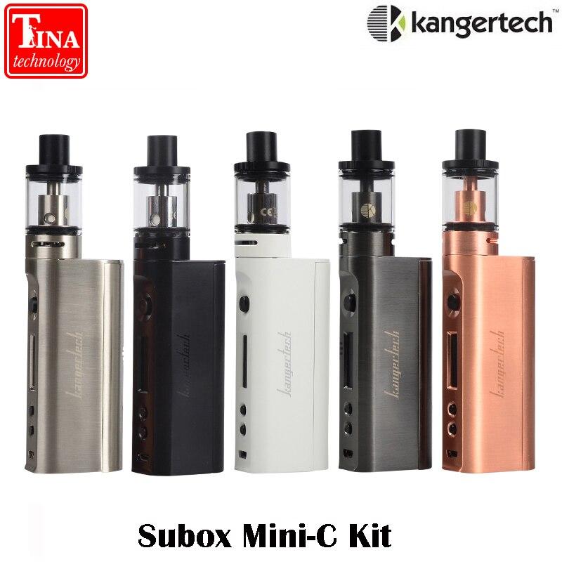 E sigaretta Kanger Subox Mini-C Starter Kit 50 W Protank5 Mod Vape con 3 ml Atomizzatore 0.5ohm SSOCC Kangertech Vaporizzatore