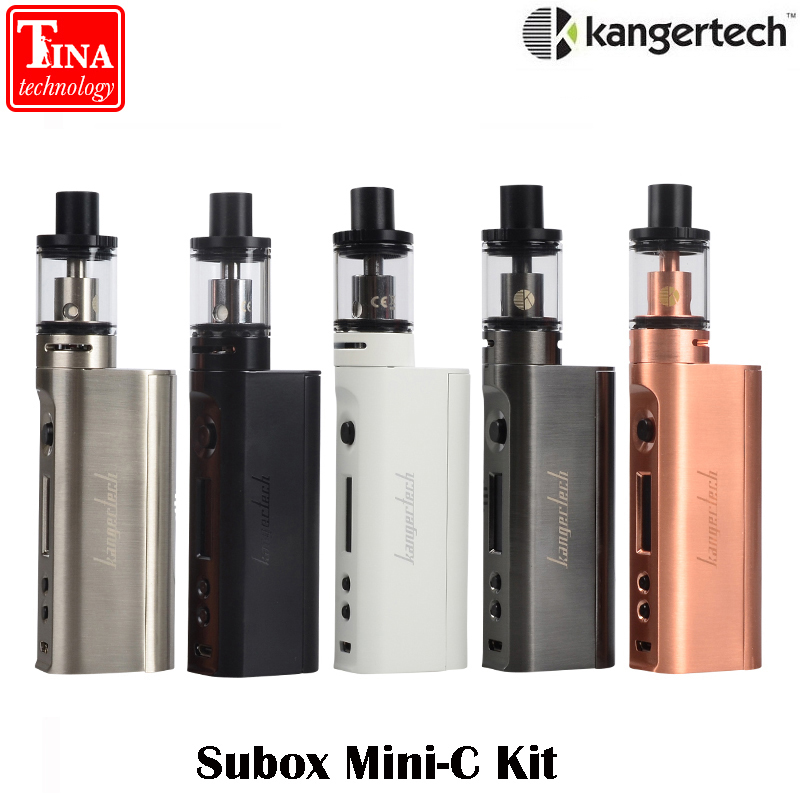 E sigaretta Kanger Subox Mini-C Starter Kit 50 w Mod Vape con 3 ml Protank5 Atomizzatore 0.5ohm SSOCC kangertech Vaporizzatore