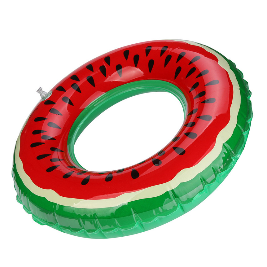 lovely pet HOT Swimming Pool Inflatable Watermelon Swim Ring Adult Fruit Swim Ring gift Toy for pet /kids 0621