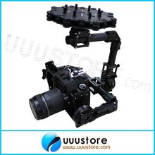 DYS FPV 3 оси Крючке Крепление Камеры Бесщеточный BLG5D воздушная PTZ Gimbal с Motor and Controller RTF для DSLR камера