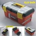 12 5 дюймов портативный пластиковый ящик для инструментов двухслойная рр коробка для инструментов чехол 32*18*15 см