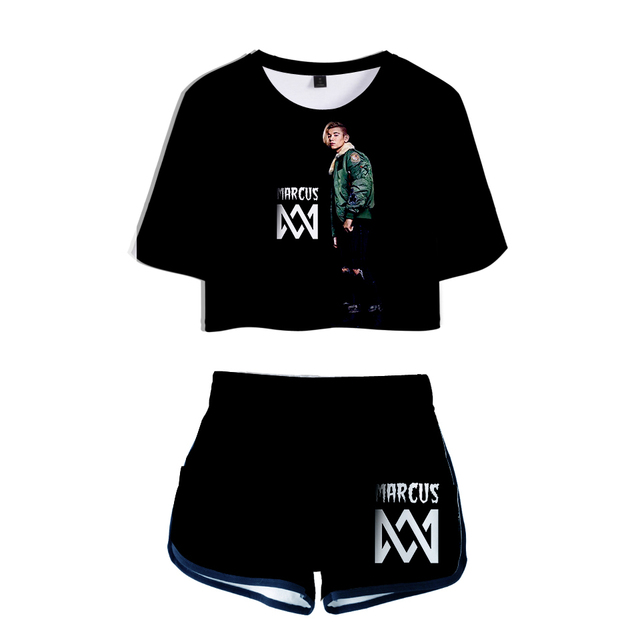 SET 3D MARCUS AND MARTINUS SHORT + T-SHIRT (10 VARIAN)