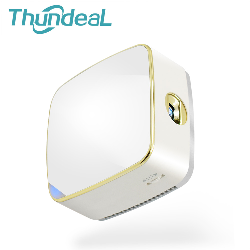 ThundeaL T10 Projector Android 5.1 Mini DLP Beamer WiFi Bluetooth 4200mAh Battery Miracast Airplay Handheld 3D Pico Projector TF support all 3d 1500ansi hd android bluetooth dlna miracast dlp 2d to 3d hdmi vga usb sd handy pocket led mini projector beamer
