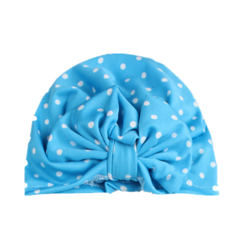 Turban Hat Beanie Toddler Baby-Girl Kids Children Summer with Bow Big Elastic-Accessories