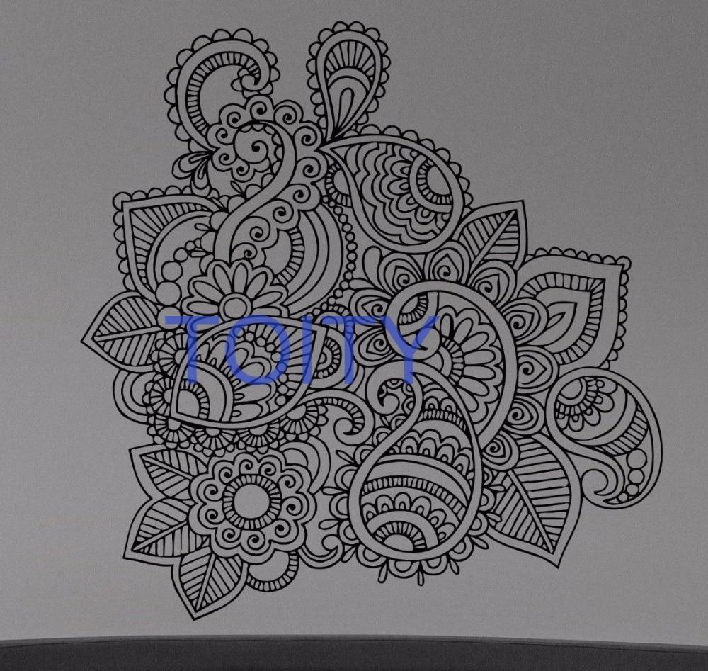 Kumpulan Doodle Art Bunga Teratai