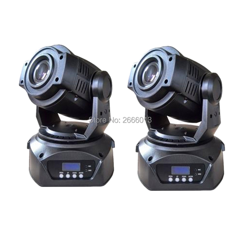 2pcs/lot 90W LED Gobo Moving Head Stage Effect Light/90W DJ Spot Lighting/3 Facet Glass Prism LED Patterns Lights For Disco Bar