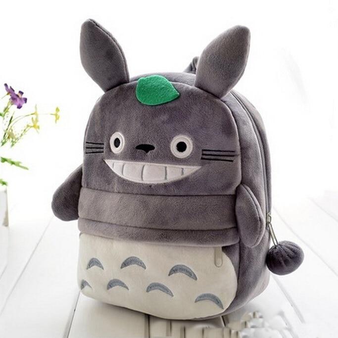 Children Totoro Cat Backpacks Kawaii School Bags For Teenagers Girls Kids Unisex Cute Cartoon Travel Kanken Backpacks 2016 New