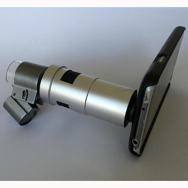 Универсальный Телефон Случаях Ювелирные Изделия LED HD 200X Зум Микроскоп Лупа Объектив Камеры для iphone 6 6 S 7 Плюс Samsung S5 S6 S7 Note 5