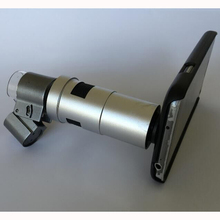 Universal Phone Jewelry LED Light HD 200X Zoom Microscope Magnifier Lens Camera for iPhone 5 6S