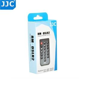 Image 5 - JJC RMT DSLR Wireless Remote Control for SONY a7S III A7III A7RIII A57 A77II A7S A7 A7II A7R IV A7RII A7SII A6000 A99 A6300 A900