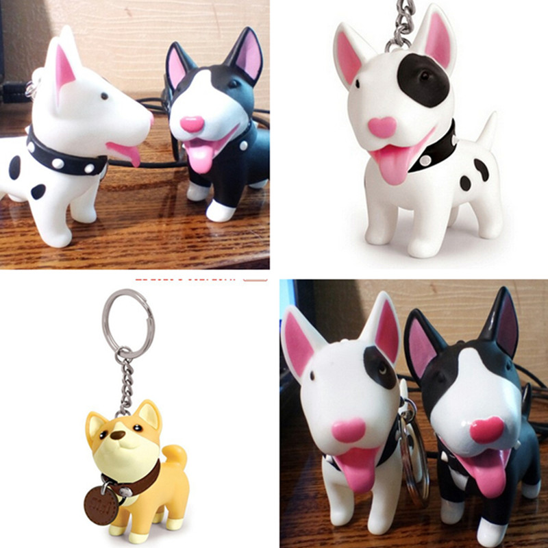 Creative Design 1Pc Dog Keycha...