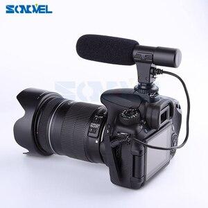 Image 4 - Mic 01 Professionnel Fusil Condenseur Microphone Caméra pour Canon EOS M2 M3 M5 M6 800D 760D 750D 77D 80D 5Ds R 7D 6D 5D Mark IV