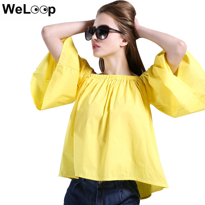 Yellow Blouse Ladies 36