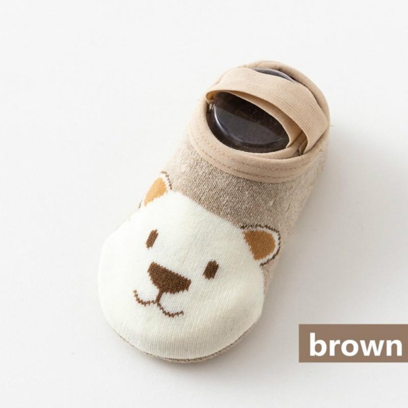 Cute Cartoon Cotton Toddler Floor Socks Image