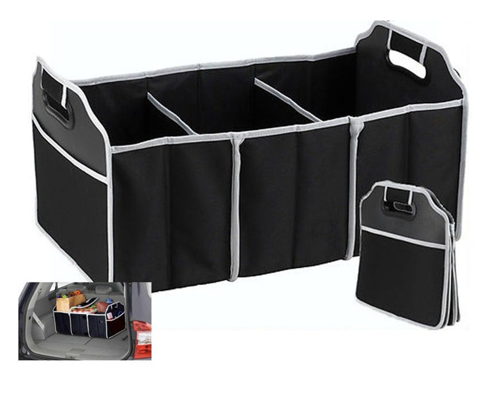 Non Woven Foldable Car Tool Storage Tidy Heavy Compartment Storage Box Car  Storage Pouch G116 In Rear Racks U0026 Accessories From Automobiles U0026  Motorcycles On ...