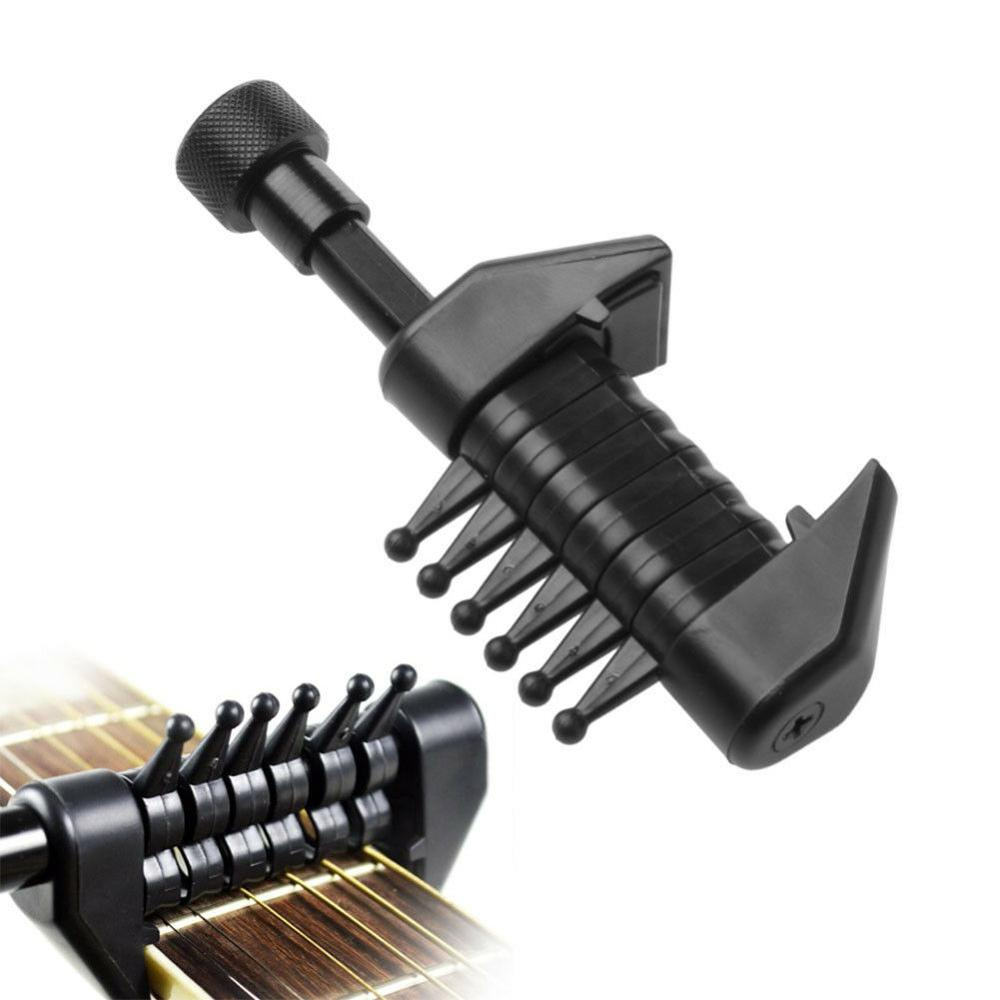 Guitar Capo Chord Tuning Acoustic Guitar String Multi Caps Individually Adjustable Instrument Accessories in Guitar Parts Accessories from Sports Entertainment