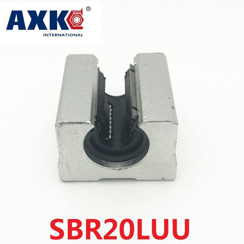 2018 Limited Rodamientos Rolamentos Sme20luu / Sbr20luu Sbr20 Luu 20mm Shaft Linear Sbr Cnc Kit Ball Bearing Guide Bearings sme fd iv
