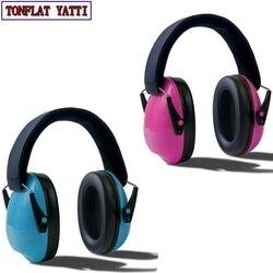 2020 New Children Foldable Headphones Ear Protectors Headset Portable Earphone Hearing Protection Soundproof Ear Muff Anti-noise