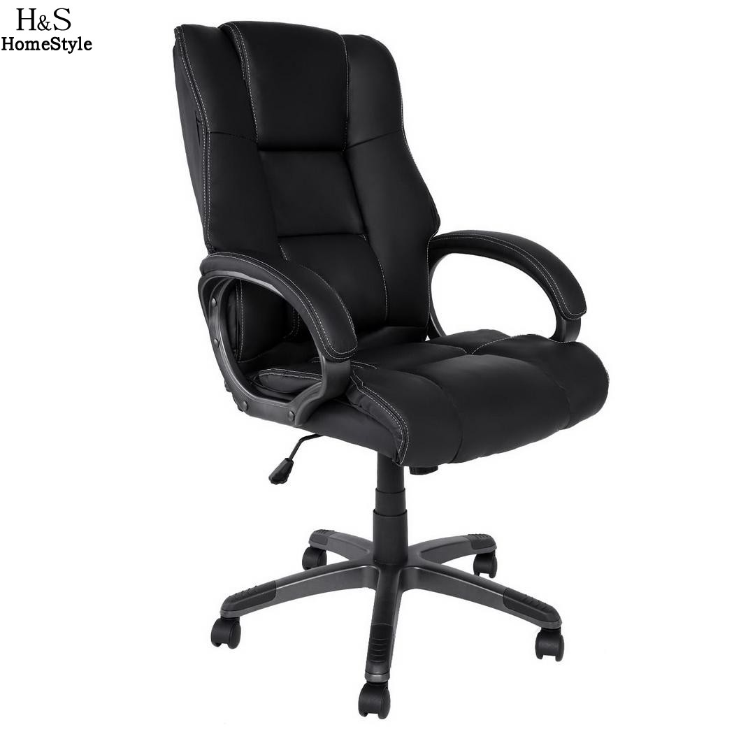homdox office chair lift chairs ergonomic pu leather high back