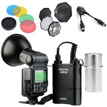 Godox AD360II-N TTL Camera Flash Speedlite Kit + Soft Box Diffuser For Nikon